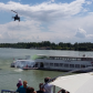 Danube Day 2015 in Slovakia: watching the river rescue demonstration